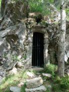 Ermitage de las Salinas : chapelle dans le rocher
