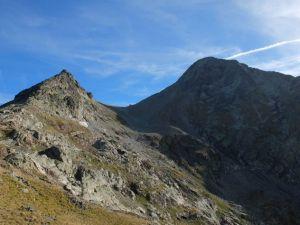 Col d'Arriel, Pic d'Arriel à droite