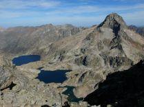 Depuis Arriel : lacs Artouste, Arrémoulit et le Palas
