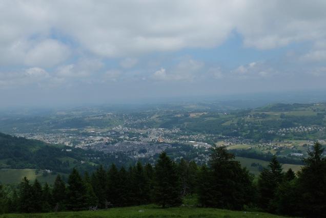 Bagnères-de-Bigorre au NE