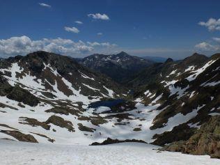 Super ! 700 m de descente dans la neige