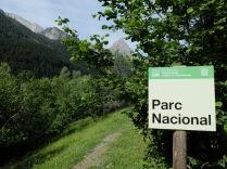 Entrée du Parc National d'Aigües-Tortes