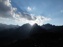 Lever du soleil depuis le refuge de Ventosa i Calvell