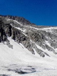 J 26 – montée vers le massif de la Maladeta : arrivée sous le col de Mulleres