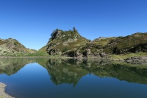 Un lac, un reflet...
