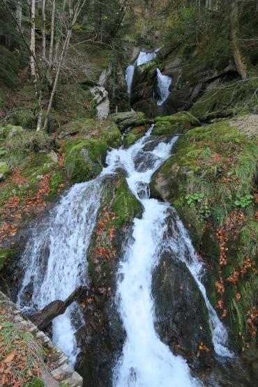 Cascade inférieur de la Pista