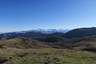 Vue depuis la Génie Braque vers le Pic du Midi de Bigorre
