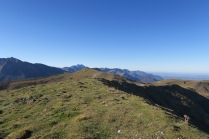 La crête du Plateau d'Isarce