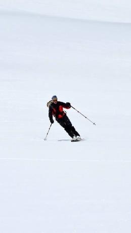 Un super moment de ski !