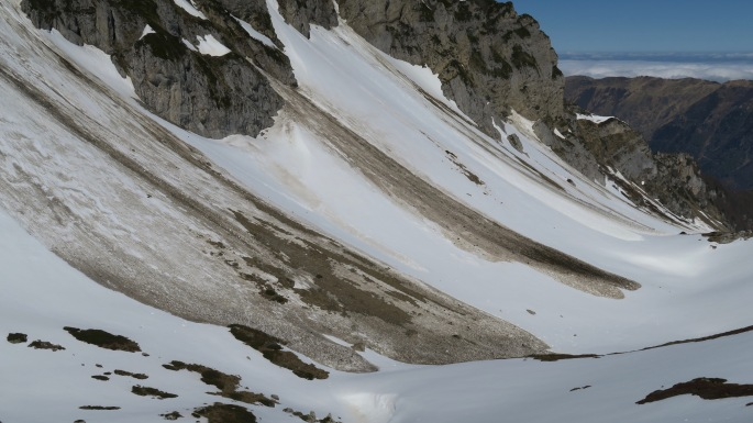 De neige immaculée à neige maculée...