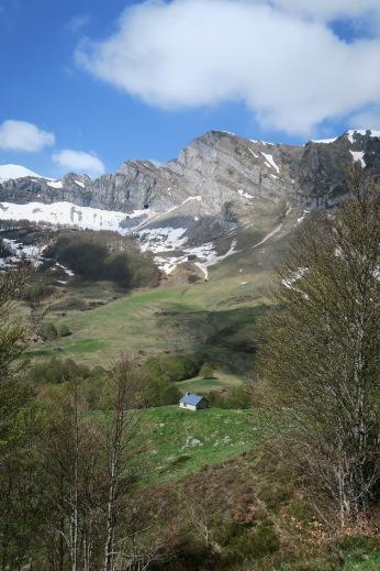 Cabane de Besse et Pic de Montaut