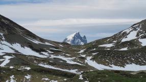 Derrière le col de Lurdé, l'Ossau