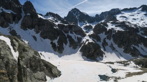 Montée vers le Col d'Arrémoulit