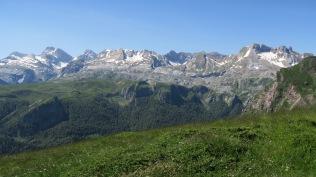 Sierra de Bernera depuis le col Lapachouaou