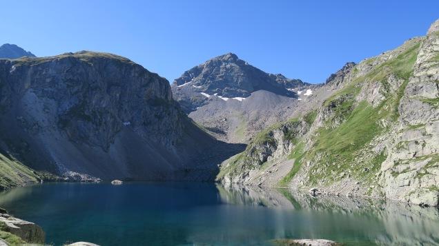Lac Labas et col d'Estom Soubiran