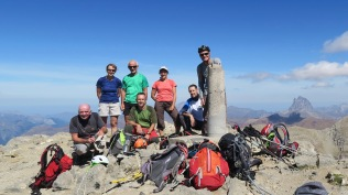 La Collarada 2885 m : Nous y étions !