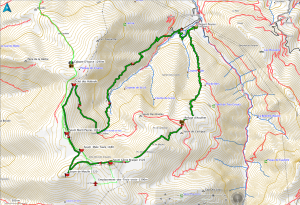17,5 kms, 1387 m de dénivelé