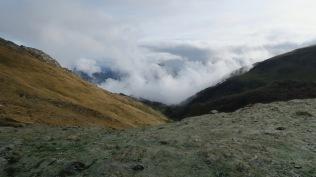 Col d'Aran : vue vers la Coume de la Herrère