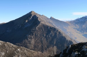 Noires montagnes : L'Ourlène et le rocher d'Aran