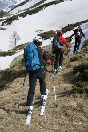 Ski sur herbe