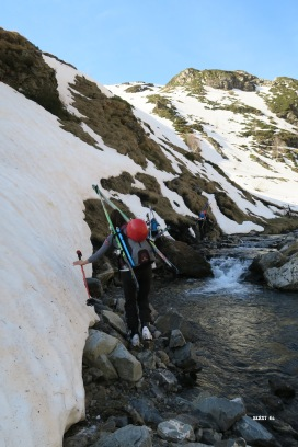 Séquence canyoning