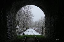 Sortie du premier tunnel