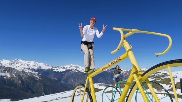 Les bicycles de l'Aubisque