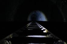 Entrée du tunnel hélicoidal
