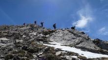 Descente de la Montagnette