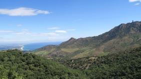 Au loin, la plaine du Roussillon