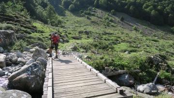 Pont sur le gave de Labat de Bun