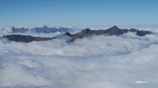 Du Lurien, la vue au nord-ouest