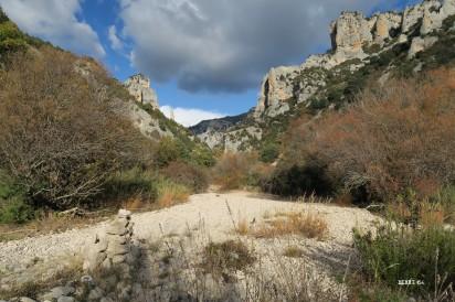 Le fond du canyon du Mascún
