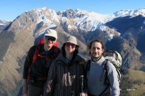 au sommet du Turon d'Aurey
