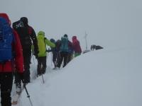 Embouteillage au Monte Estellatta !
