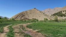 Au loin le grenier de Sidi Moussa