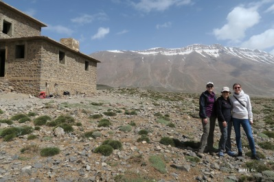 refuge au lac d'Izourar