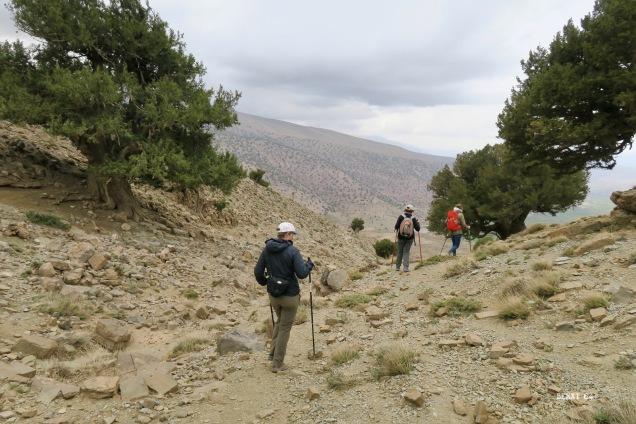 descente vers Zawat Oulmzi