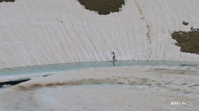 ski nautique sur le lac de Montagnon
