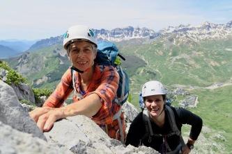 Josette et Nathalie - sourire qui en dit long