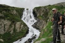 Cascade entre lacs du Miey et Roumassot