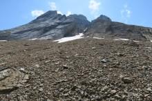 austère pico Alto de la Portaza