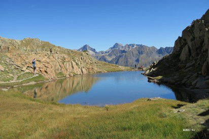 lac sous le col de Peyreget