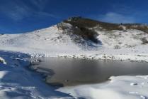 lac d'Arriste et crête du Bétoura