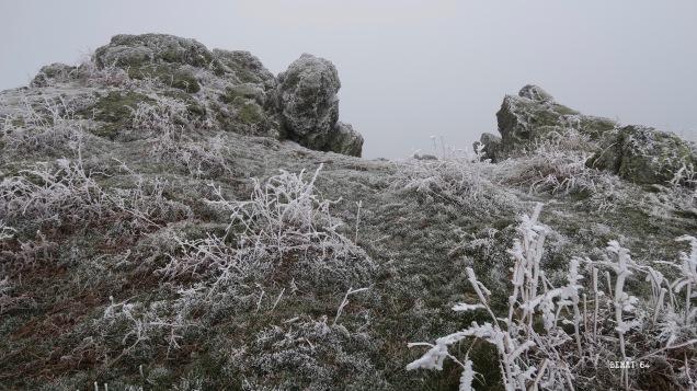 froide arrivée au pic Salhagagne