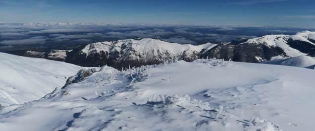 Plein nord depuis La Montagnette (crédit : Cécile)