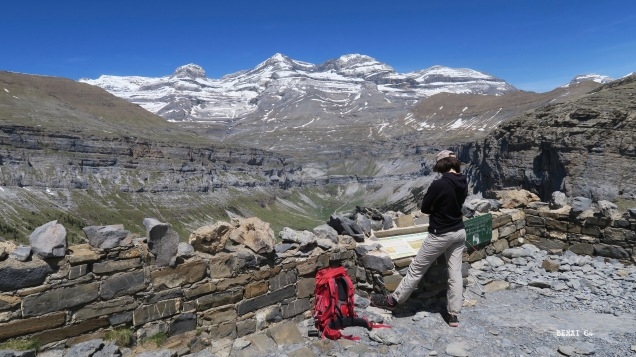 Mont Perdu depuis le mirador de Sierracils