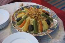 couscous du soir (après la tajine de midi)