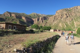 Aït Sa'id : sortie du village