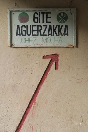 Le gîte à Aguerzakka